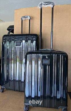 Ensemble De Bagages Extensibles Tumi V3 Pour Le Transport Et Le Voyage Prolongé De 2 Pdsf Noirs 1 420 $