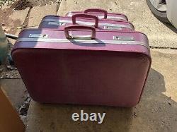Ensemble De Bagages Jcpenney Vintage