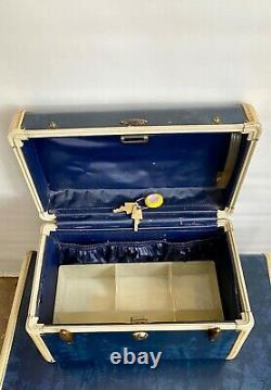 Ensemble De Bagages Vintage Samsonite Shwayder 3pc Avec Keys
