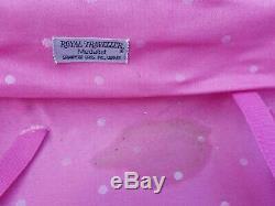 Ensemble De Valises Vintage Royal Traveller Pink