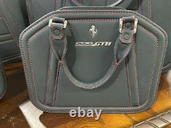 Ferrari 599gtb 4-piece Schedoni Travel Luggage Set For Sale Mint Condition