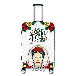 Frida Kahlo De Set Voyage Bagages White Lady Spinner Valise (20 28 Pouces)