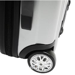 Gratuit Tsa Cadenas Travelers Choice Rome Hardside Légère Spinner Luggage Set