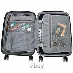Hardside Luggage 3-piece Set (24/20/28) Kenneth Cole Reaction Suitcase Rouge