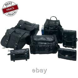 Harley Softail Dyna Deuce Sacoches Voyage Bagages 7pc