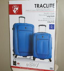Heys Traclite 2-pc Set 4 Roues Lightweigh Hybrid Spinner Luggage 30 21 Upright