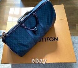 Keepall 50 Limited Edition Neu Ensemble Complet Louis Vuitton Originale