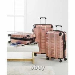 Kenneth Cole Reaction 3 Pc Hardside Luggage Set Scott's Corner Rose Gold