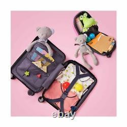 Licorne Enfants Carry Sur Luggage Set Avec Roulettes Multidirectionnelles, Les Filles Voyage Valise