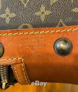 Lot De 3 Cas Vintage Authentique Louis Vuitton Bagages Sacs De Voyage Valise