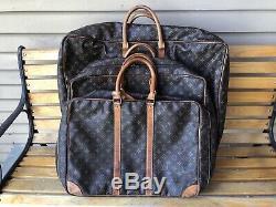 Louis Vuitton Doux Side Luggage Set