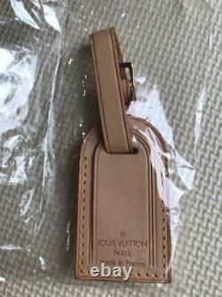 Louis Vuitton Luggage Name Tag & Padlock Withkey Set Never Used From Japan F/s