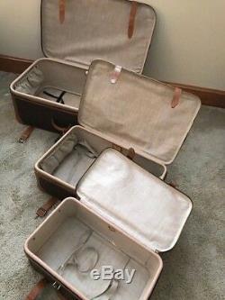 Louis Vuitton Vintage Set De 3 Valises Valise Sac De Voyage Suitecase