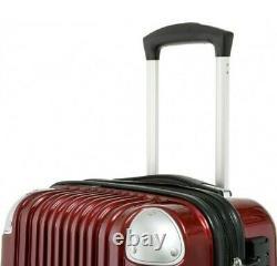 Luxus Polycarbonat Trolley Hartschalen-koffer Reisekoffer-set Gepäck M-l-xl 3tlg