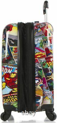 Marvel Young Adult Luggage Set Spinner Suitcase 2 Pcs Set 26 Pouces, 21 Pouces