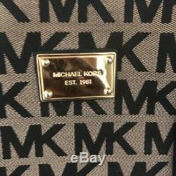 Michael Kors Jet Set Mk Logo XL Voyage Weekender Tote Carryon Bagages Sac