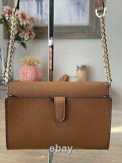 Michael Kors Jet Set Travel MD Phone Crossbody Leather Bag Clutch Luggage 298 $