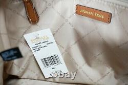 Michael Kors Jet Set Travel Small Top Zip Leather Shoulder Tote Bag Brun