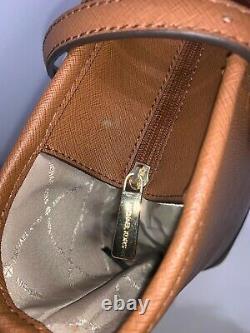 Michael Kors Jet Set Travel Small Top Zip Shoulder Sac Sac En Cuir