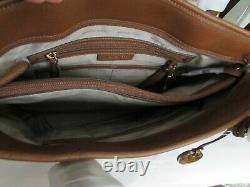 Michael Kors Mk Jet Set Large Snap Pocket Pocket Fourre-tout Bagages Brown 07026742