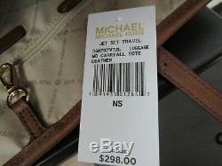 Michael Kors Sac À Main Fourre-tout En Cuir Jet Set Travel Carryall 298 $ Bagages