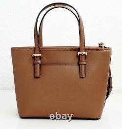 Michael Kors Tasche Handtasche Jet Set Travel Xs Carryall Fourre-tout Bagages Neu