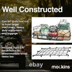 Mockins Hitch Mount Cargo Carrier Set Cargo Bag & Net Voiture Suv Truck Luggage Van