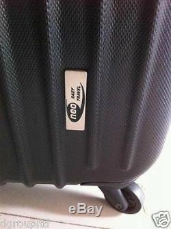 Neo Eazy Set De Voyage En Plastique Abs Etui Rigide Valises Set De Bagages Chariot De Voyage