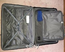 Niob Hartmann Excelsior 2 Pièces Hardside Spinner Luggage Set, Brossé Graphite