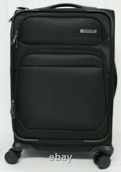 Niob Samsonite Epsilon Nxt 2 Pièces Softside Bagage Set 20 & 27 Noir