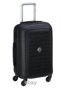 Nouveau Delsey Paris Tasman 2-piece Hardside Spinner Luggage Set Carry-on /25 Noir
