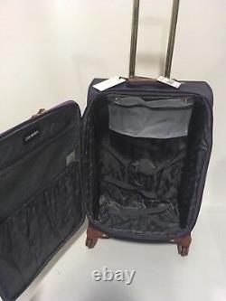 Nouveau Ensemble De Bagages 3pc Steve Madden Spinner Shadow Collection 840 $ Purple