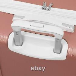 Nouveau London Fog Vintage II Hardside Spinner Lightweight Bagage Set Rose Gold