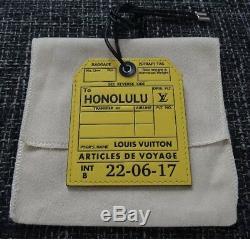 Nouveau Louis Vuitton Ensemble De 3 Honolulu Voyage Etiquettes De Bagages, Charme Sac, Porte-clés