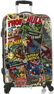 Nouveau Marvel Young Adult Luggage Set Spinner Suitcase 2 Pcs Set- 26 Inc, 21 Inch