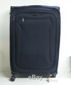 Nouveau Samsonite Explorez Eco 2 Pièces Softside Spinner Luggage Set Marine Valise
