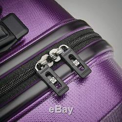 Nouveau Samsonite Tech 2.0 Hardside Luggage Set 2 Pièces, Violet (27 Et 20)