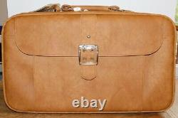 Nouveau Set Vintage Samsonite Cordoba Bagages Bagage & Carrelage Spicewood Tan Cuir