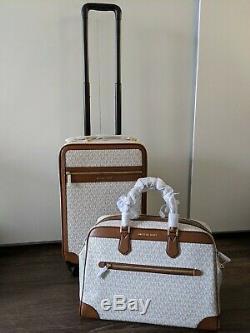 Nwt Authentique Michael Kors Valise Trolley Carry Sur Duffle Set Voyage De 2