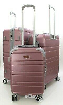 Nwt Rose Valise Hardcase Spinner Valise Verticale Extensible 202630 3pcs / Set
