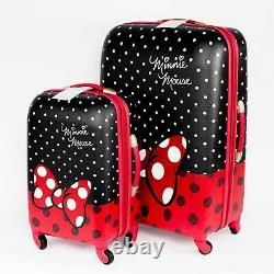 Ouvert Box American Tourister Disney Minnie Mouse Luggage Set 2 Pièces 21/28