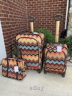 Pour Missoni Target 28, Spinner, 22 Spinner Et Sac Voyage Luggage Set