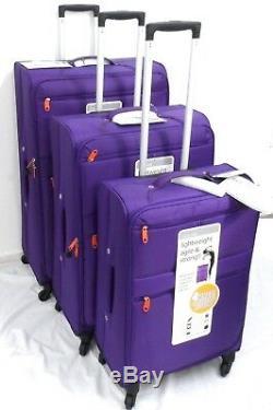Qualité Légère Ensemble De Valises Roues Trolley Voyage Bagage Cabine Sac