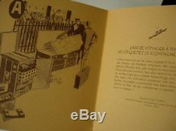 Rare Auth Louis Vuitton Autocollant Voyage Vip Bagages Événement Damier Box Set Postcard