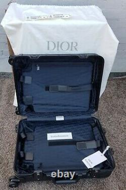 Rimowa + Dior Cabin Black Flambant Neuf Dans La Boîte Ensemble Complet Avec Des Étiquettes
