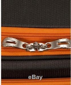 Rockland Impact Luggage Set Soft-side Léger, Roulettes Multidirectionnelles Gris (4 Pièces)