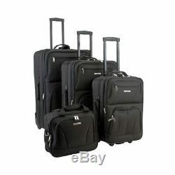 Rockland Unisexe 4 Piece Luggage Set F32