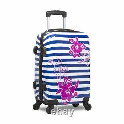Rolite Plage Stripe 3 Pièces Hardside Spinner Luggage Set