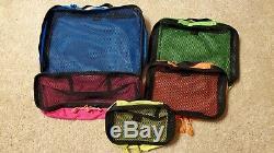 Rouge Oxx Cube D'emballage Set Voyage Du Monde Avec Votre Organisé Objets