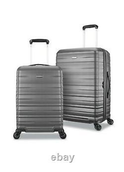 Samsonite 2-piece Handside Spinner Luggage Set Charbon De Bois Gris